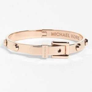 Michael Kors - Rose Gold Astor Buckle Bracelet